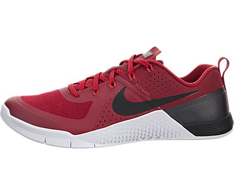 NIKE Mens Metcon 1 Gym Red/Blk/Brght Crmsn/White Training Shoe 10.5 Men US (Blk Mens Footwear)