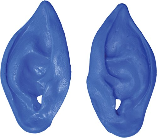 Ears Alien Blue (Morris Costumes EARS ALIEN BLUE)