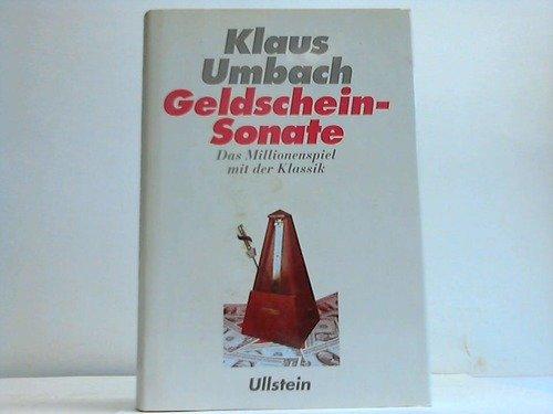 Geldschein-Sonate. Das Millionenspiel mit der Klassik.