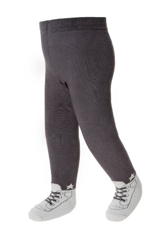 Baby Emporio - 6-12 Months - Grey -ALL BOY Tights - Anti-Slip