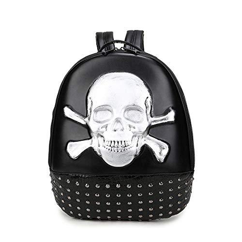 Dama 36 Doble Cráneo Libre Pzxy Bandolera Cm B Ocio 44 Plaza Hombre Vertical Aire Personalidad Al De 10 Manera Mochila Multifuncional wqqFfCaP