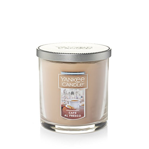 (Yankee Candle Small Tumbler Candle, Café Al Fresco)