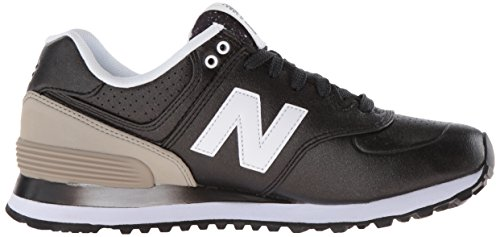 9 EU para Mujer UK New Grey Balance Black 574 Zapatillas Negro StIpxqpwv8
