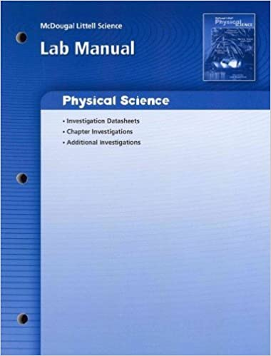 Book McDougal Littell Science Oklahoma: Lab Manual (Student) Grade 8 Physical Science