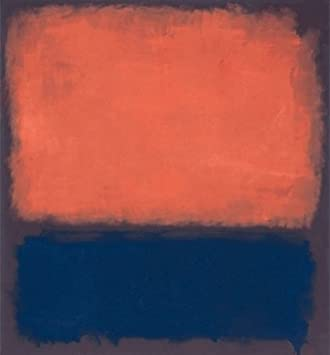 24w x 26h no14 by mark rothko stretched canvas