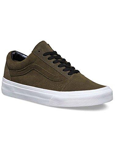 Vans Unisex Adults' Old Skool Low-Top Sneakers (Perf Suede) Tarmac/True visa payment online cheap wholesale price huge surprise cheap price Qa683bPlHy