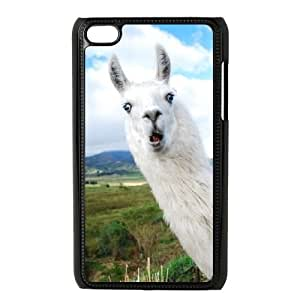 Customized Cell Phone Case for Ipod Touch 4 with Alpaca shsu_1964022 at SHSHU