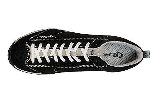 Kefas - 3172 Globelite - Wildleder Sneakers Verschiedenen Farben Schwarz