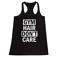 P&B Gym Hair, Don't Care Women's Tank Top