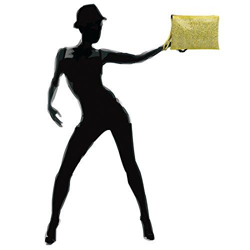 Caspar Femme Strass Enveloppe Grand clutch Soirée Main À Avec Jaune Ta358 Et Pour Sac Xl Brillant Dragonne De rzpHwrq