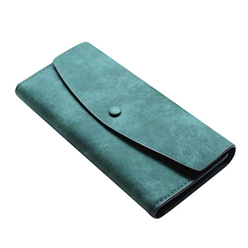 Women Purse Soft Handbags Card Holder Lady Long Wallets Fashion Bags Wallet For Female by WUDEF