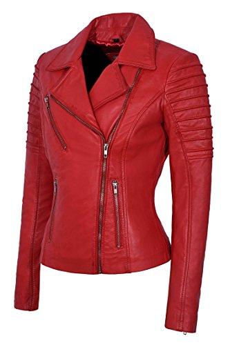 Smart Range - Blouson - Biker - Femme red
