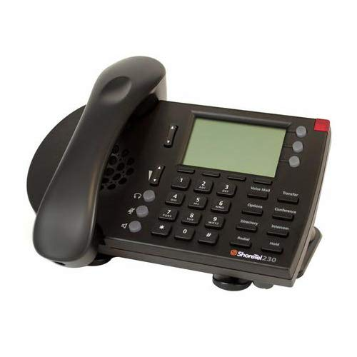 ShoreTel IP Phone 230G Black (Renewed)