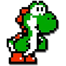 Stickerzzz!!! Yoshi 8 Bit Sticker Decal For Skateboard Scooter Phone Guitar Laptop Case