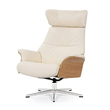 Sillón de Piel Relax reclinable Air Marfil: Amazon.es: Hogar