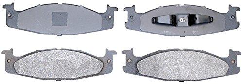 Bronco Brake Pad - ACDelco 14D632MX Advantage Severe Duty Organic Front Disc Brake Pad Set