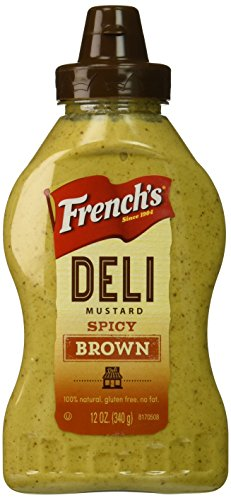 French's Spicy Brown Mustard, 12 oz
