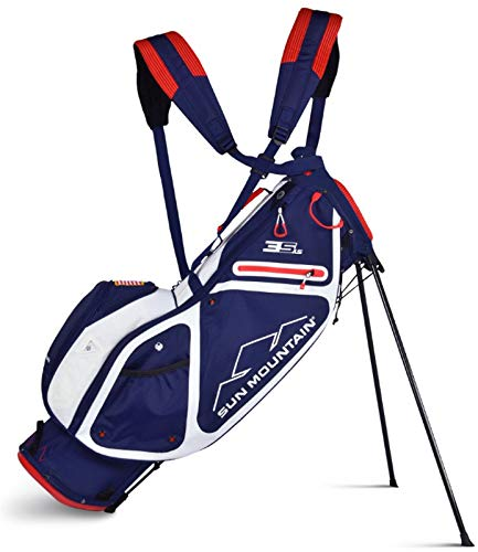 Sun Mountain 2019 3.5 Ls Stand Bag Navy/Red
