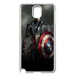 Custom Printed Phone Case Captain America For Samsung Galaxy Note 3 N7200 RK2Q02599
