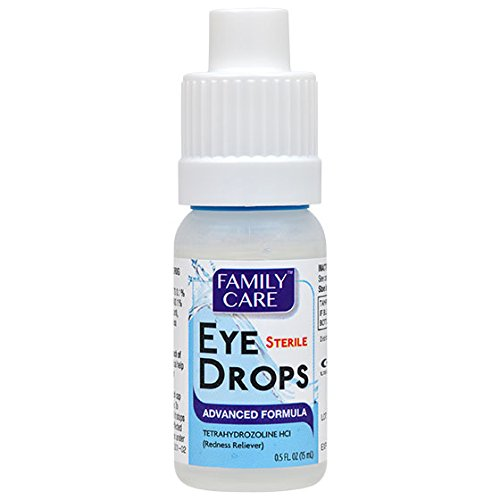 Advanced Eye Drops (Eye Lubricant and Irritated Redness Reliever)