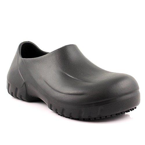 Laforst Atomic Unisex Antislip Werkschoenen Slip Op Zwart