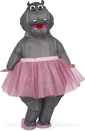 Rubie's Costume Co. Men's Inflatable Hippo Costume, As Shown, One Size - Animal Costumes