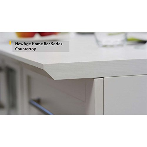 NewAge Home Bar 96'' x 25'' Countertop in White