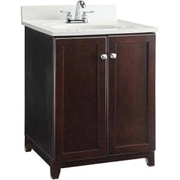 Premier Faucet 106722 Sonoma Rta Vanity 24 Inch Espresso