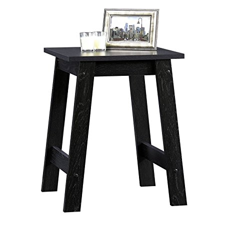 sauder beginnings collection side table black home