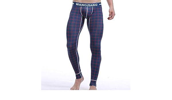 WANGJIANG - Pantalón térmico - para hombre azul small: Amazon.es: Ropa y accesorios