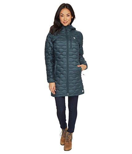 Mountain Hardwear Women's Nitrous Hooded Down Parka Blue Spruce Small ()