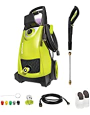 Sun Joe SPX3000 14.5-Amp 2030 PSI Max 1.76 GPM Max Electric High-Pressure Washer w/ 5 Quick-Connect Tips, Detergent Tanks, Cleans Cars, Fences, Patios, Decks, Sidewalks
