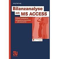 Bilanzanalyse mit Ms Access