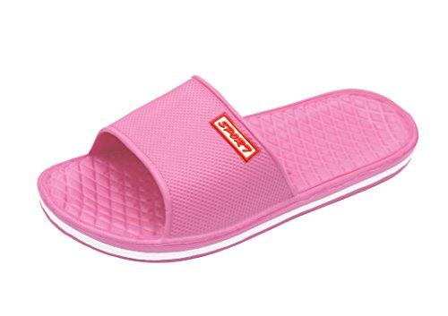 2 Insun Pack Pink Indoor Bathroom PVC Slipper Women's Sandals qRrq8YA