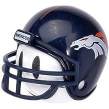 Quantity 3 pcs pack - Collectible - 2 Denver Broncos Football Car Antenna Toppers + 1 HappyBalls Happy Face Car Antenna Ball