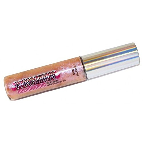 Hard Candy Glossaholic Holographic 3D Lip Gloss, Caramel Twi