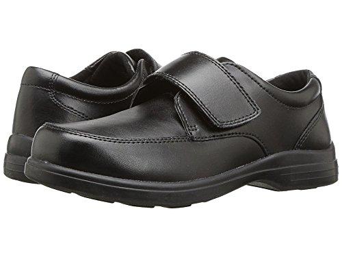 Shoes School Black Leather (Hush Puppies Gavin Uniform Dress Shoe (Toddler/Little Kid/Big Kid), Black, 12 W US Little Kid)