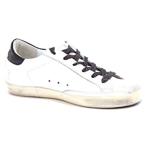 Shoe 6889U Goose Woman White Golden Donna Nero Sneaker Black Bianco 5P7xwSdYqp