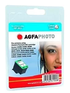 Agfa-Photo Cartucho de tinta de color APHP351C Agfa-Photo-180 páginas 12 ml Agfa-Photo 351 (CB337EE) original