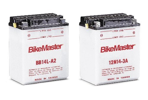 BikeMaster Yumicron 12 Volt Dry BB/YB12C-A BatteryYamaha YFA-1, YFB250, YFB250F