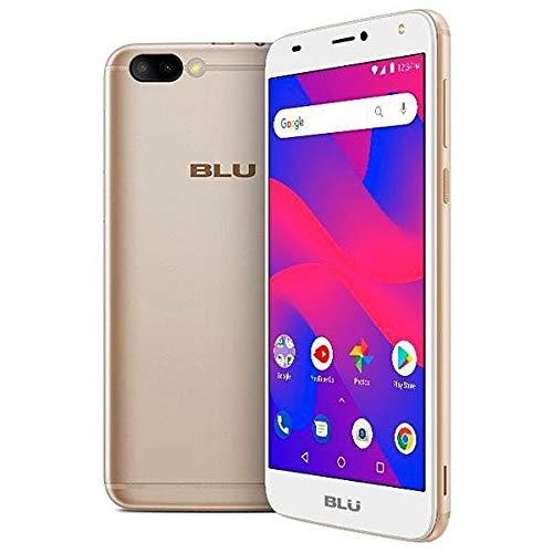 BLU C6 C031P Unlocked GSM Dual-SIM Android Phone w/Dual 8MP|2MP Camera - Gold