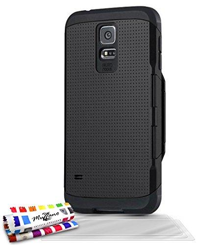 MUZZANO F1409366 - Funda para Samsung Galaxy S5, Color Negro 1
