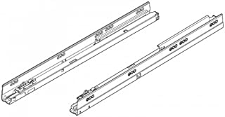 product image for Blum 576.5501B Blum B576.5501B Tandem 22 Inch Full Extension Concealed Undermount Drawer Slide with 150 Lbs. Weight Capacity - Pair