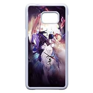 Samsung Galaxy S6 Edge Plus case , Saber - Fate Stay Night Samsung Galaxy S6 Edge Plus Cell phone case White-YYTFG-24834