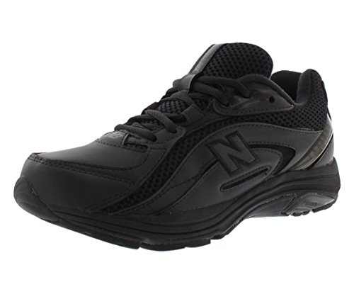 New Balance Women's WW846 Walking Shoe,Black,7 B