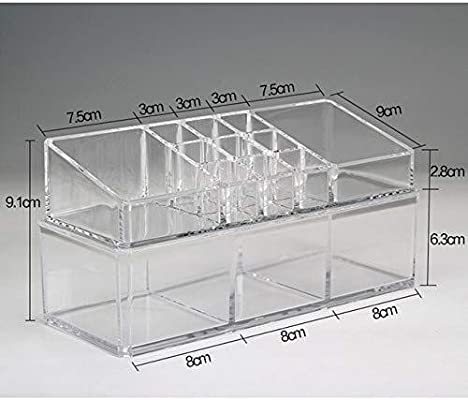 Cajas de joyería DJSSH Cosmética de plástico Caja de plástico ...