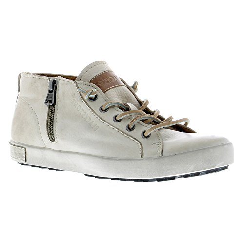 Scarpe Blackstone Donna Sneakers Jl24 Fashion In Pelle Pieno Fiore
