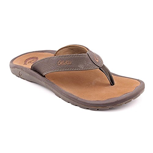 OLUKAI Men's Ohana, Dark Java/Ray, 15 D-Medium