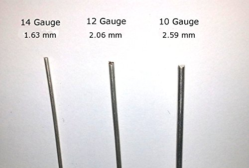 Pure 9999 Silver Wire 6'' - 10 Gauge - Set of 2 - Larger Surface Area Is Better by Silver Lining (Image #2)