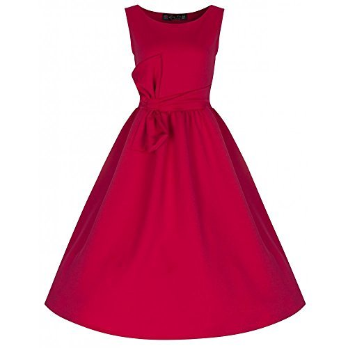 Lindy-Bop-Ivie-Oversized-Bow-Retro-inspired-Elegant-Evening-Dress